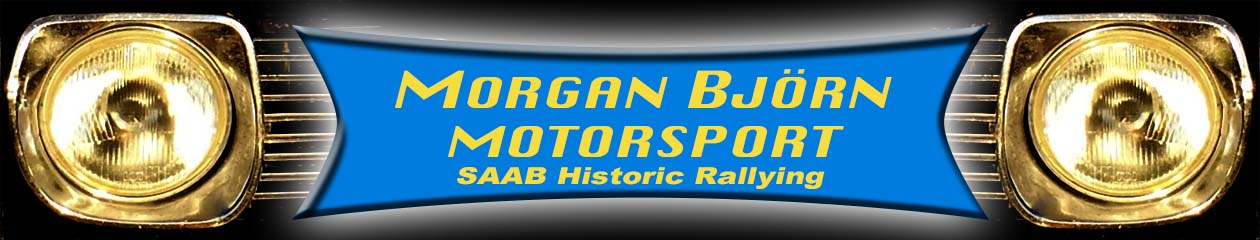 Morgan Björn Motorsport – SAAB V4 Historic Rallying